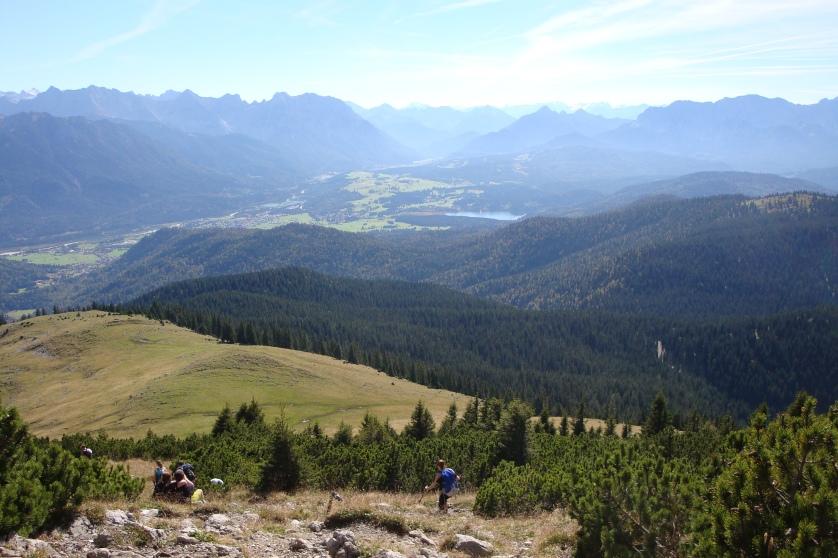 Blick vom Simetsberg