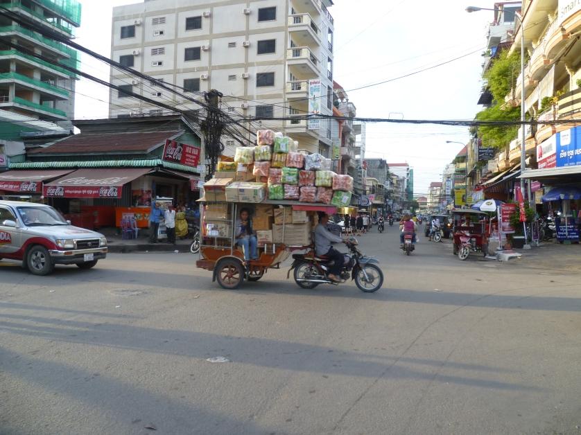 Kleintransporter, Phnom Penh