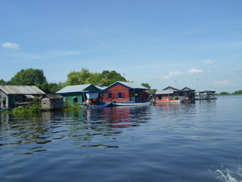 schwimmendes Dorf, Tonle Sap See