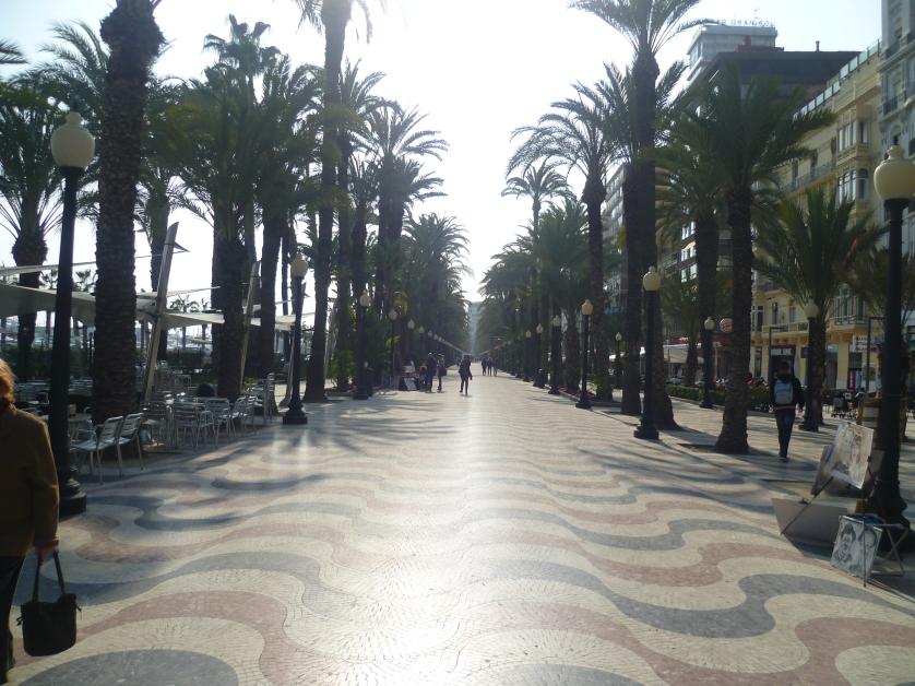 Explanada de Espana, Alicante