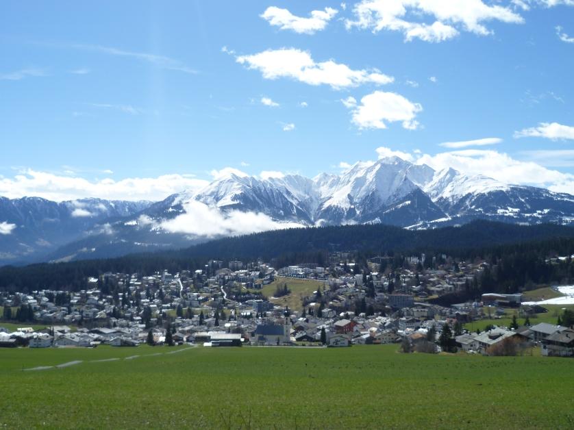 Skiort Flims, Schweiz