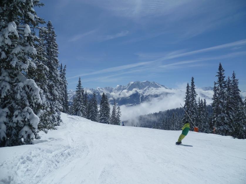 Skigebiet Laax, Schweiz
