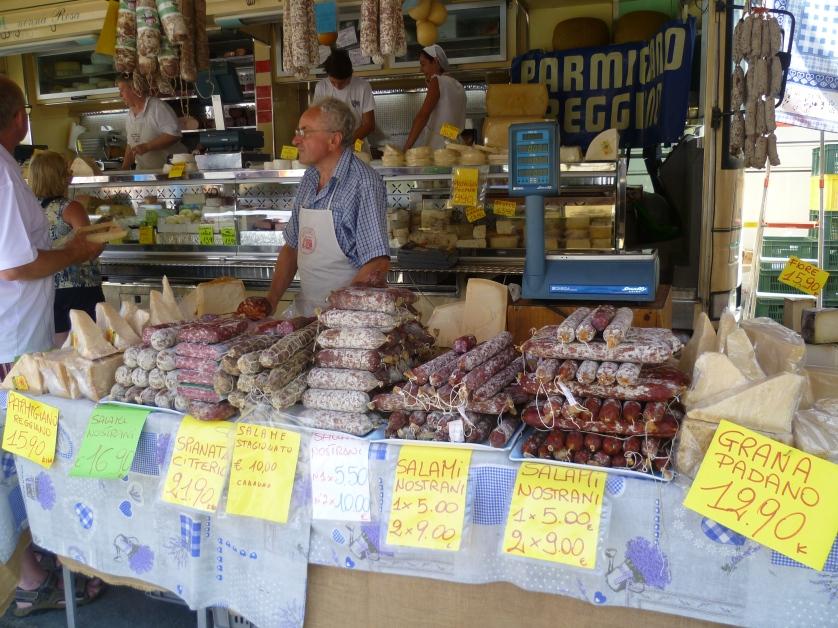 Wochenmarkt, Cannobio, Lago Maggiore