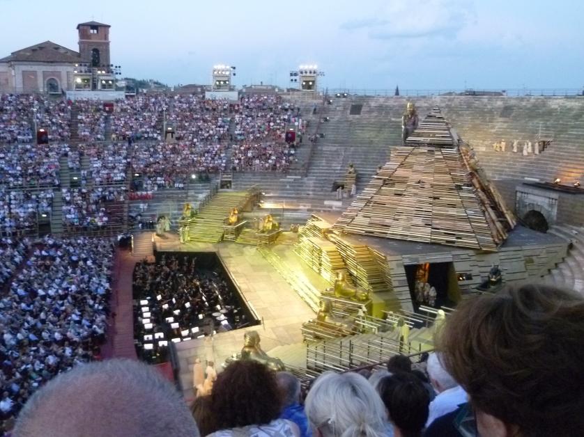 Oper, Verona, Italien