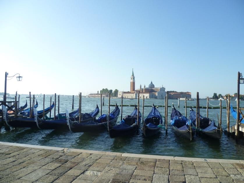 Gondeln, Venedig, Italien