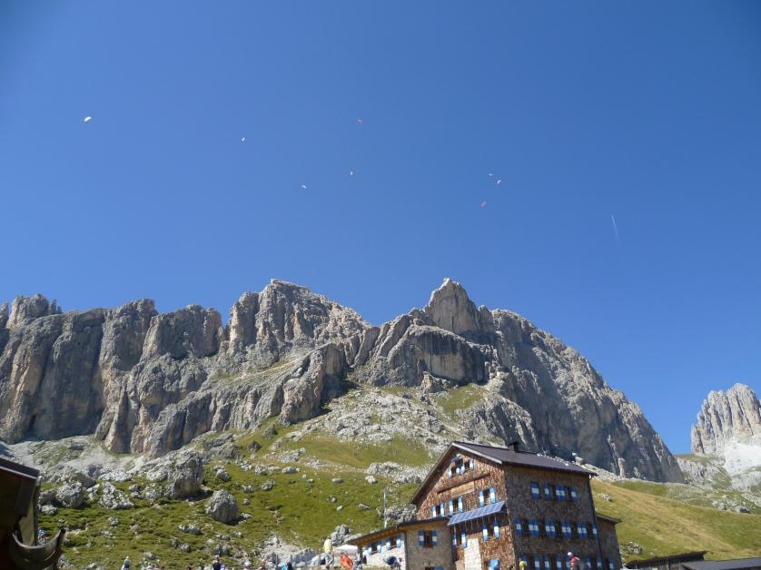 Rotwand, Hütte, Dolomiten, Welschnofen