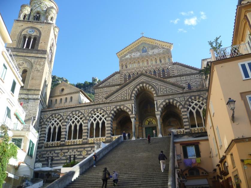 St. Andrea Dom, Amalfi, Amalfikueste, Italien