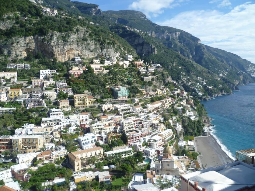 Positano, Amalfikueste, Italien