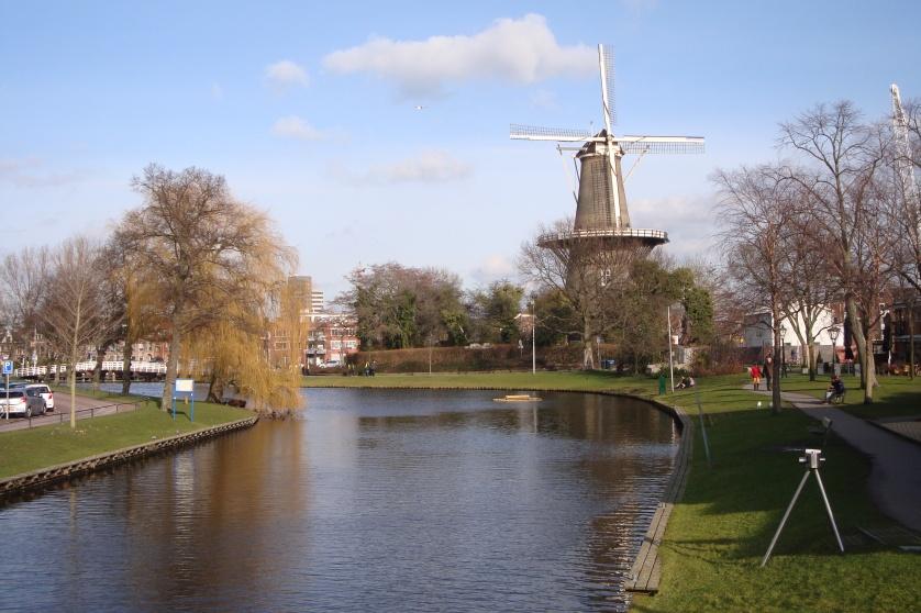 Windmuehle, Leiden, Holland