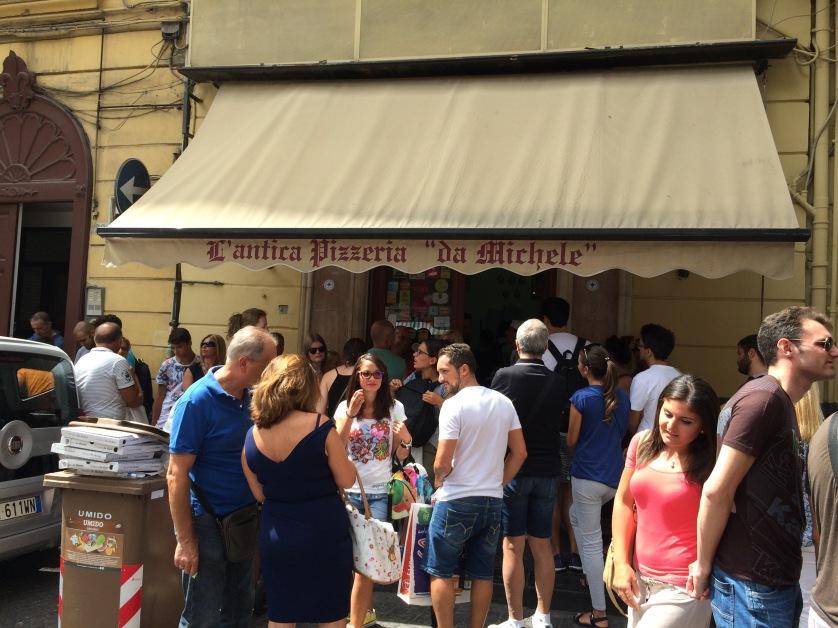 Da Michele, Pizzeria, Neapel
