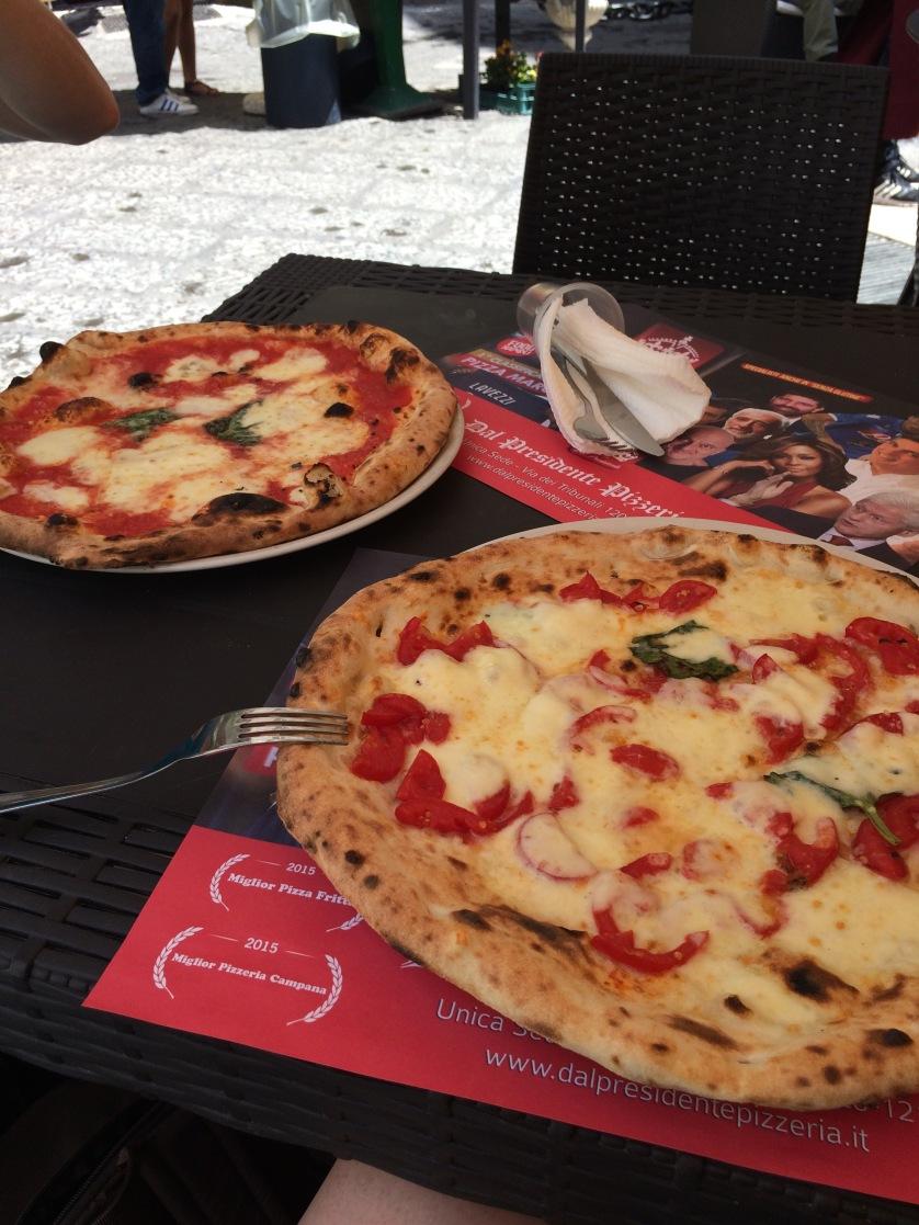 Neapel, Pizza