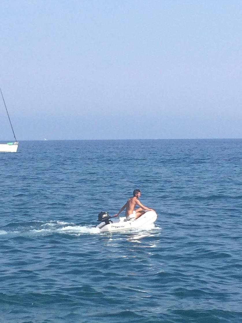 Boot, Amalfiküste