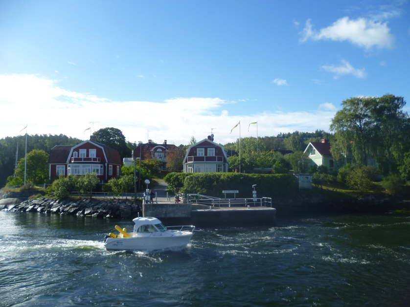 Bootsfahrt, Vaxholm, Stockholm