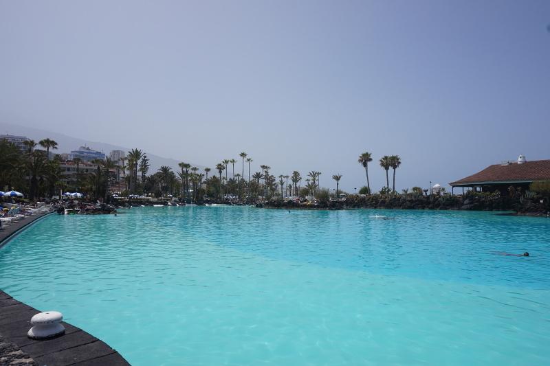 Pool, Puerto de la Cruz, Teneriffa