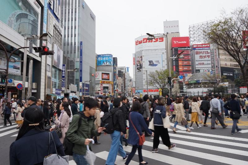 Shinjuku, Menschen, Tokio