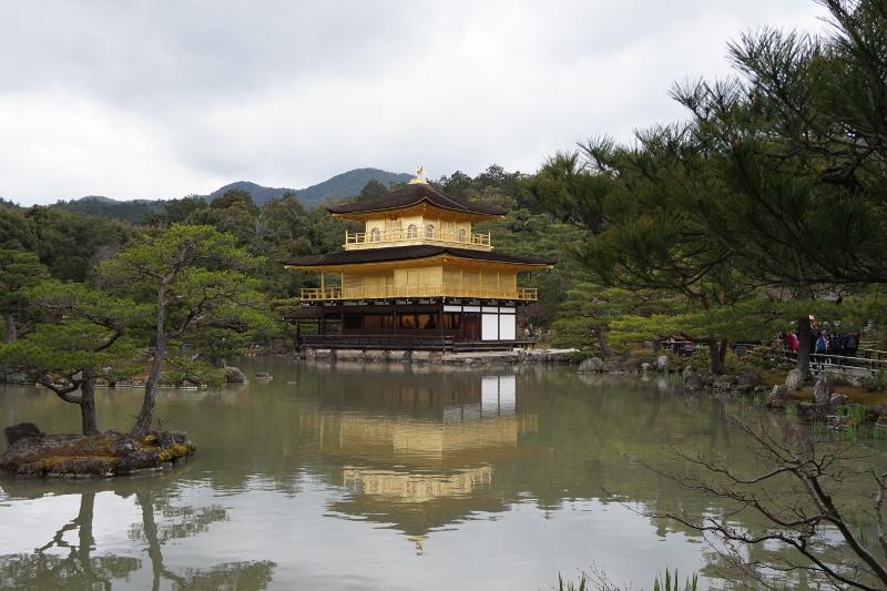 Golden Temple, Kinkakuji, Kyoto