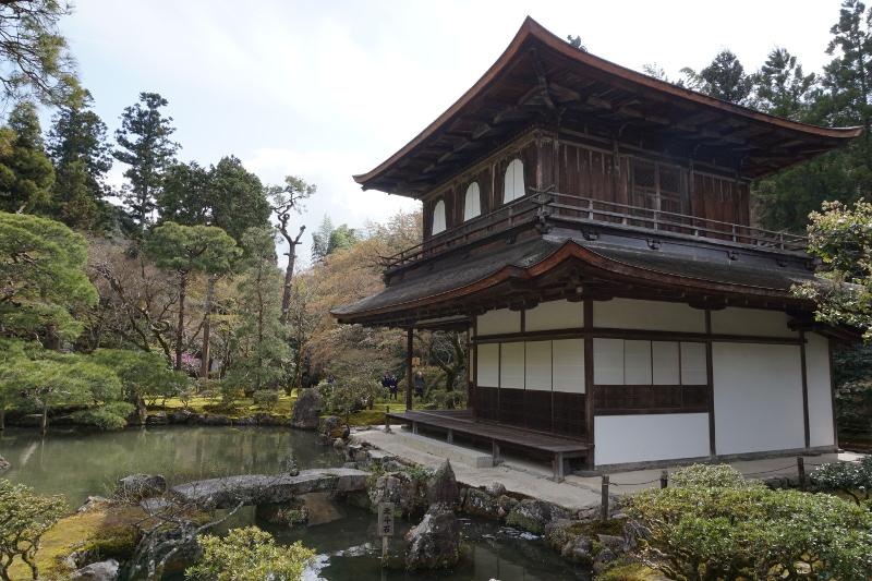 Silberner Tempel, Ginkakuji, Kyoto