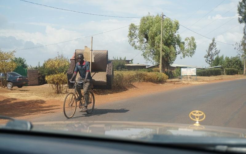Ruanda, Fahrradfahrer