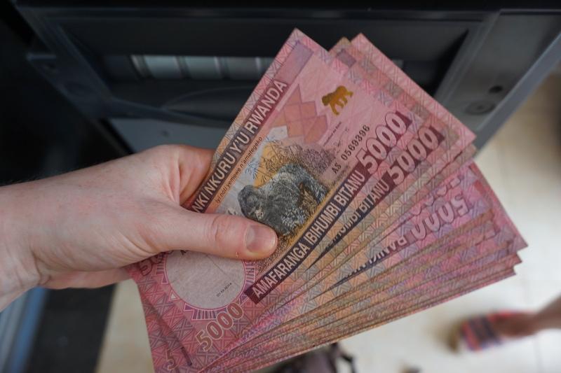 Ruanda, Franc, Geld